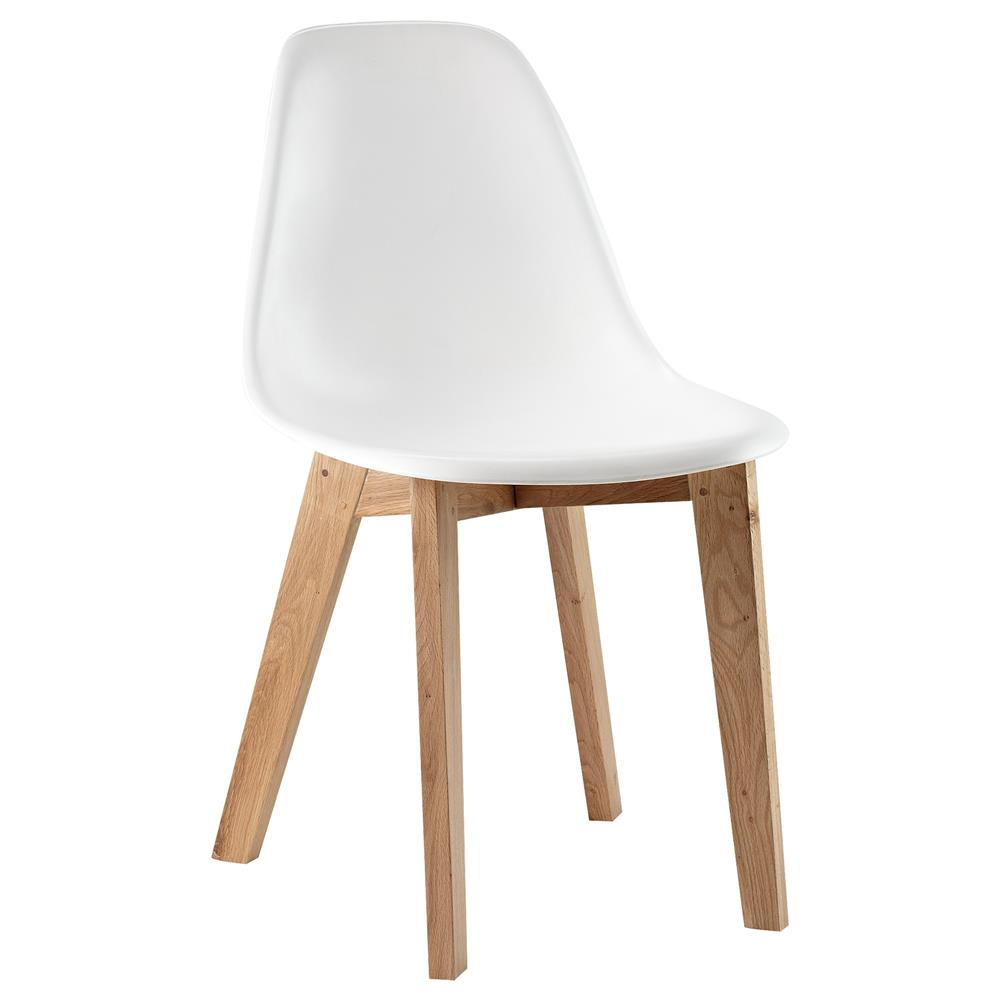 atelier plastic dining chair with wood legs dining chairs seating