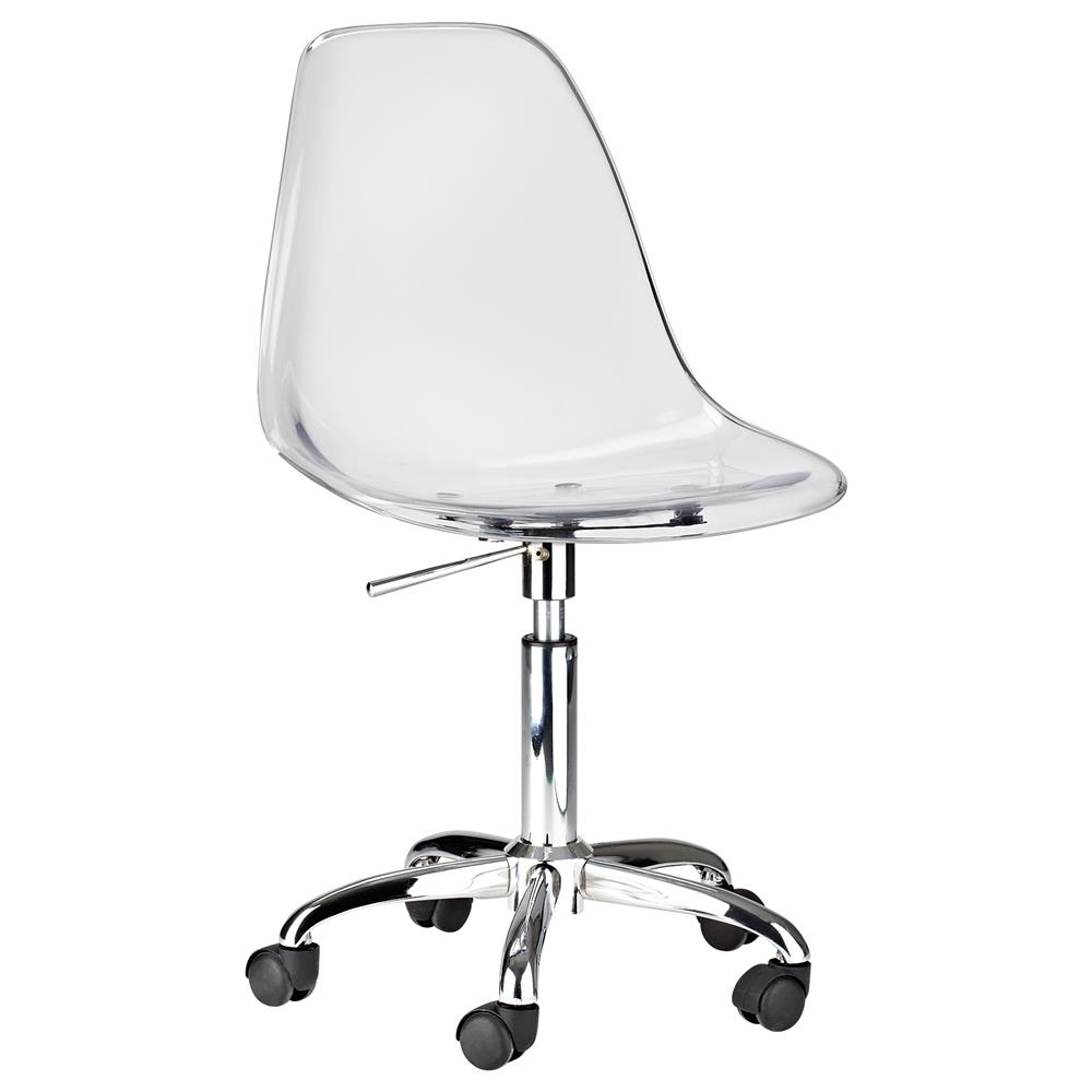 Atelier - Metropolitan - Clear acrylic office chair/DINING CHAIRS