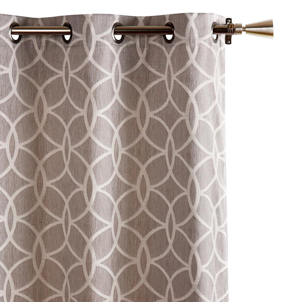 designer collection vanessa jacquard curtain length 84. Black Bedroom Furniture Sets. Home Design Ideas
