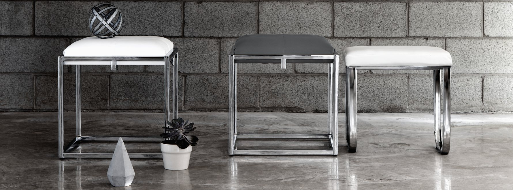 Urban furniture for Miroir bouclair