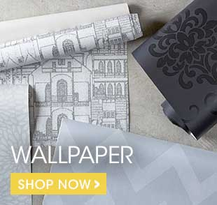 Wallpaper is a singular and fun way to dress up a room! Choose from our selection of lighter or darker hues.