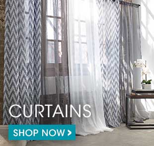 Shop our wide selection of designer collection curtains, sheer curtains and blackout curtains. Click here!