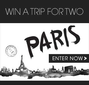 Bouclair's home decor stores offer you a chance to win a trip for two to Paris.