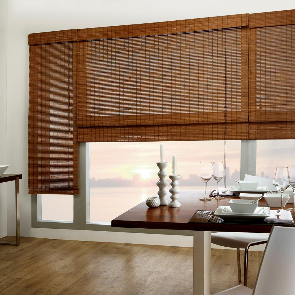 Tahiti Bamboo Roman Shade Bamboo Roman Shades Windows