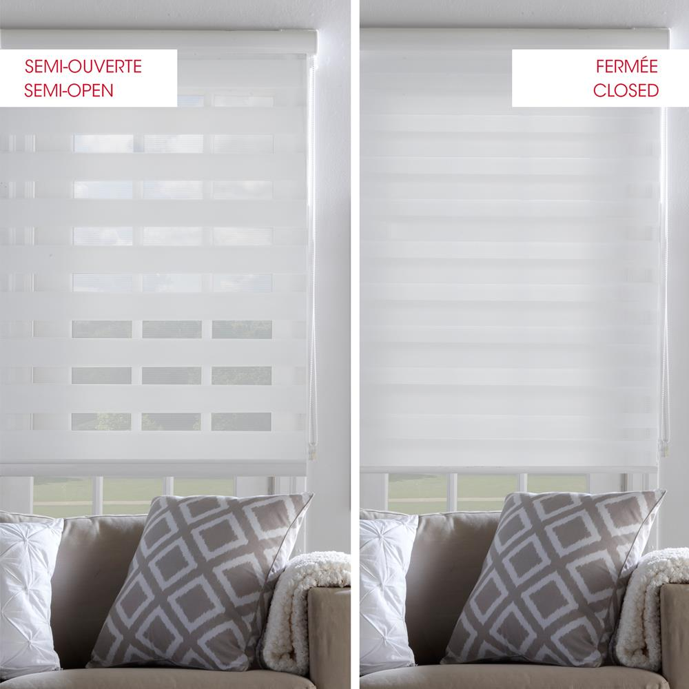 Sheer shade sheer shades roller shades windows for Store exterieur pour fenetre