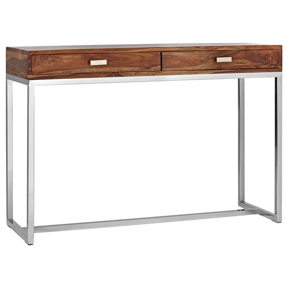 Atelier Scandinavian Wood console table with stainless  : Products12855 1000x1000 618496008 from bouclair.com size 1000 x 1000 jpeg 45kB