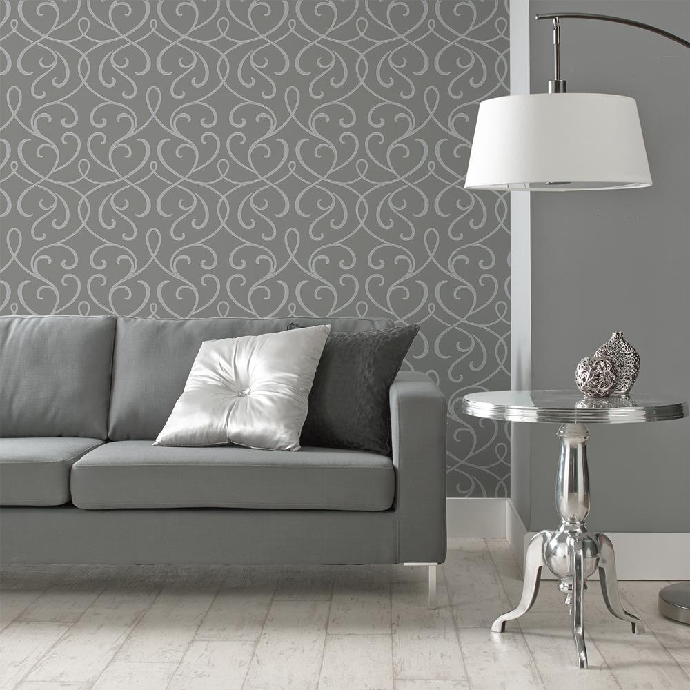 Wallpaper double roll wallpaper wall decor - Papier peint design pour salon ...